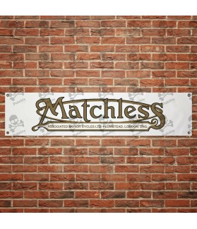 MATCHLESS motorcycles BANNER GARAJE
