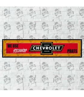 Chevrolet Genuine BANNER GARAJE