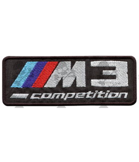 Embroidered patch BMW M3