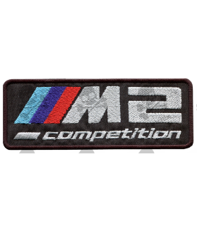 Embroidered patch BMW M2