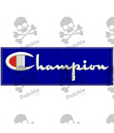 Embroidered patch CHAMPION