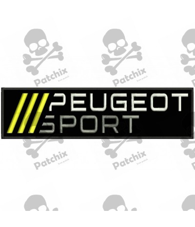 PEUGEOT SPORT Embroidered Patch