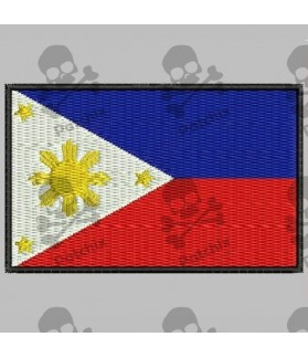 Embroidered patch FILIPINAS FLAG