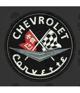 Iron patch CHEVROLET CORVETTE