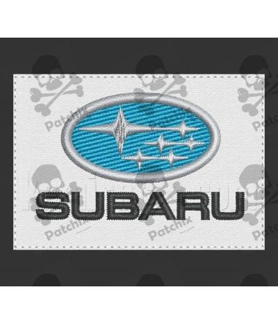 Iron patch SUBARU