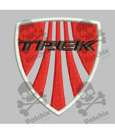 Iron patch TREK