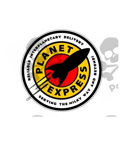 Iron patch Planet Express
