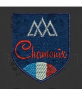 Iron patch Chamonix