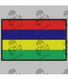 Embroidered patch MAURICIO FLAG