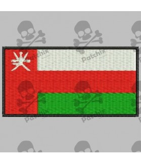 Embroidered patch OMAN FLAG