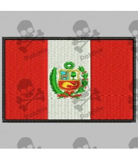 Embroidered patch PERU FLAG