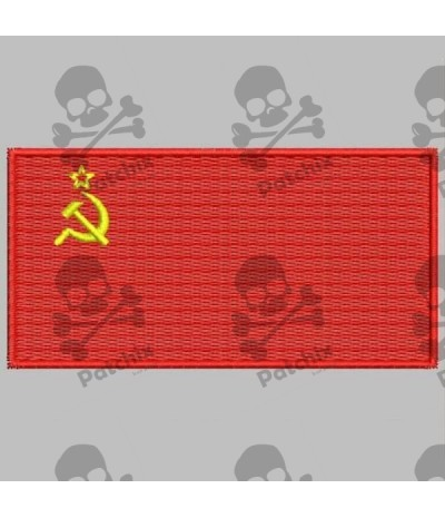 Embroidered patch URSS FLAG