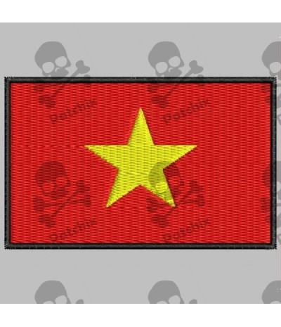 Embroidered patch VIETNAM FLAG