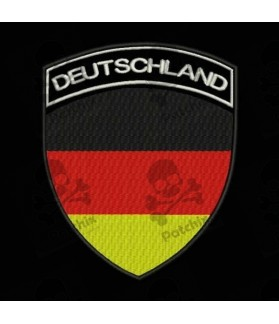 Embroidered patch GERMANY FLAG COAT