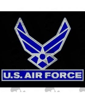 Embroidered patch MILITARY US AIR FORCE