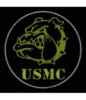 Embroidered patch MILITARY USMC (US MARINE CORPS)