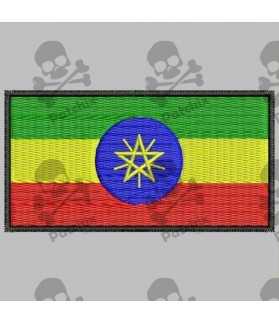 Embroidered patch ETIOPIA FLAG