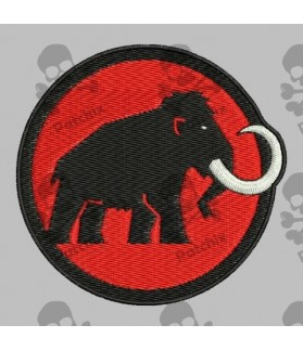 Embroidered Patch MAMMUT