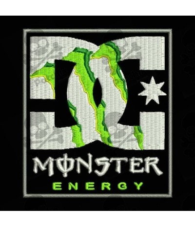 Embroidered Patch DC MONSTER ENERGY