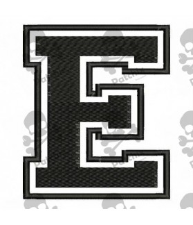 Embroidered Patch LETTER E