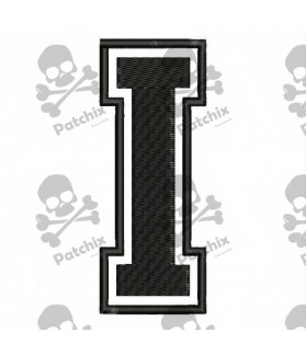Embroidered Patch LETTER H