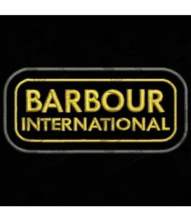 Embroidered Patch BARBOUR INTERNATIONAL