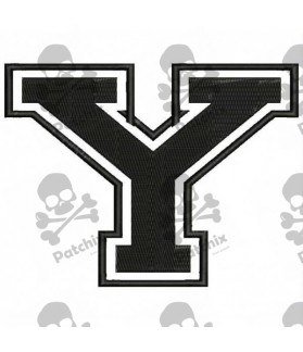 Embroidered Patch LETTER Y